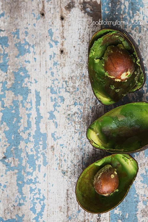 Avocado Yogurt Dressing with Quinoa Salad via FoodforMyFamily.com