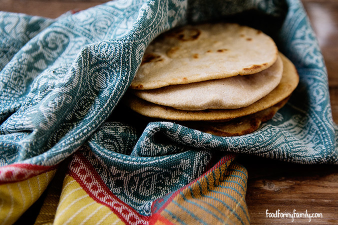 How to Make Homemade Chapati {Roti: Indian Flatbread} | Food for ...