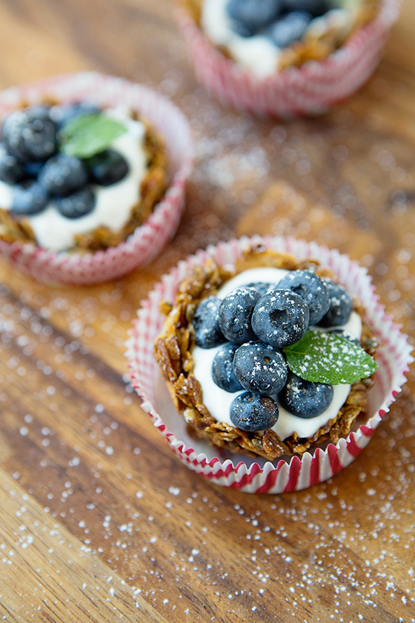 Rye Blueberry Breakfast Tarts via FoodforMyFamily.com