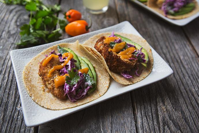 Coconut Cod Fish Taco #recipe via FoodforMyFamily.com