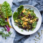 Curry Cauliflower Quinoa and Lentil Salad Recipe | FoodforMyFamily.com