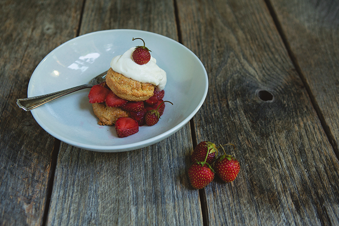 Gluten-Free Strawberry Shortcake recipe | FoodforMyFamily.com