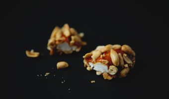 Homemade Salted Nut Rolls with Bourbon Caramel #recipe | FoodforMyFamily.com