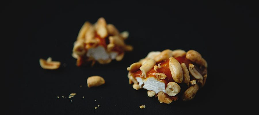 Homemade Salted Nut Rolls with Bourbon Caramel